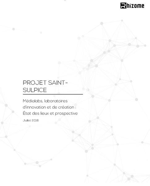 Projet Saint Sulpice